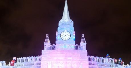 Фестиваль «Ледовая Москва» на Поклонной горе