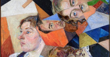 Выставка Давида Бурлюка