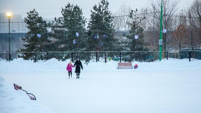 Каток в парке 850-летия Москвы (закрыт на лето)