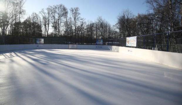 Хоккейная коробка (Парк «Сокольники»)  (закрыт на лето)