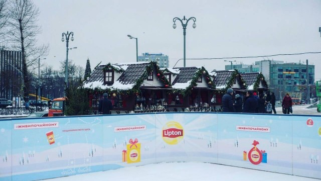 Каток возле Даниловского рынка (закрыт на лето)