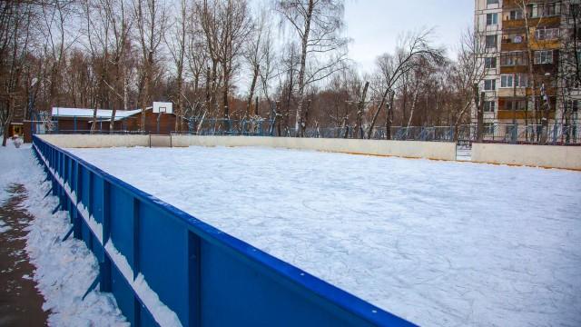 Малый каток в парке «Перовский»  (закрыт на лето)