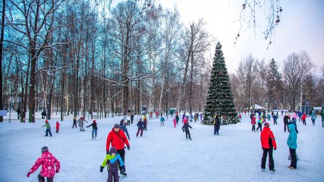 Большой каток в парке 850-летия Москвы (закрыт на лето)