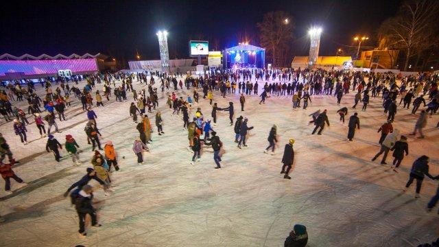 Каток «Лёд» (парк «Сокольники») (закрыт на лето)