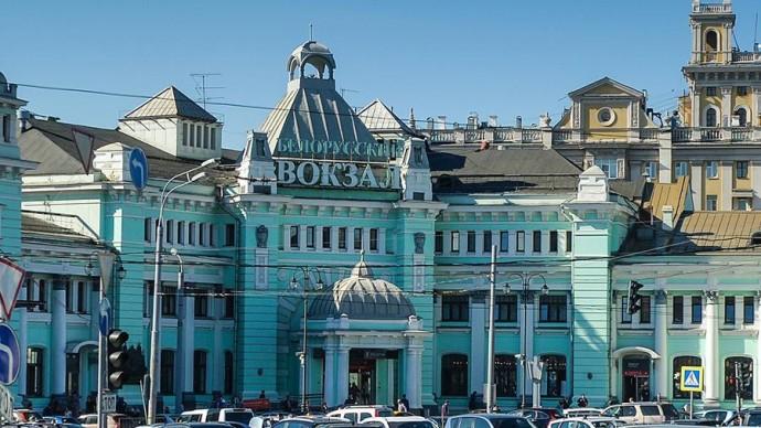 Белорусский вокзал в Москве отмечает 150-летие