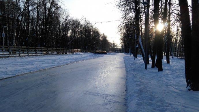 В Перовском парке устроят праздник по случаю открытия катка