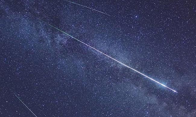 Москвичи увидят первый звездопад весны