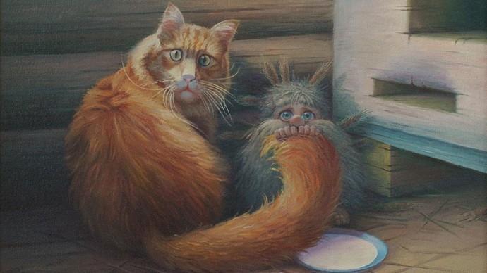 В Санкт-Петербурге пройдет выставка «Портрет кошки»