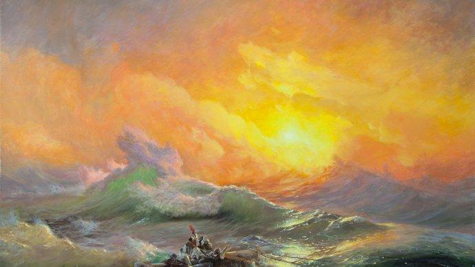 Выставка Айвазовского будет работать до полуночи