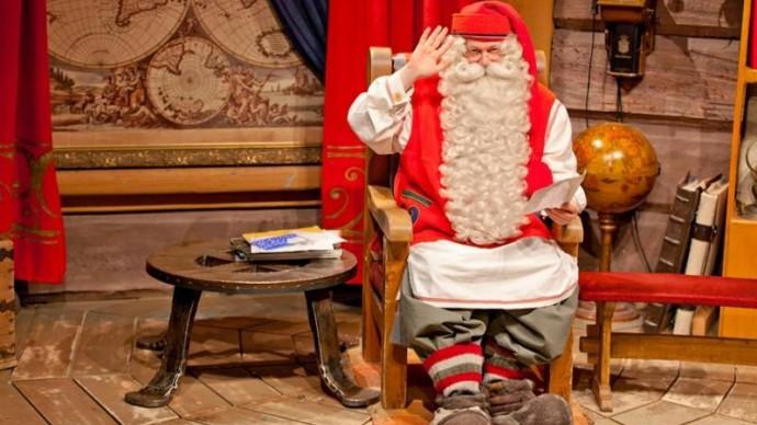 На Тверской улице выступит Санта-Клаус из Лапландии