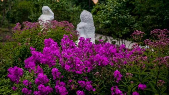 В парке «Сокольники» открылся обновленный Сиреневый сад