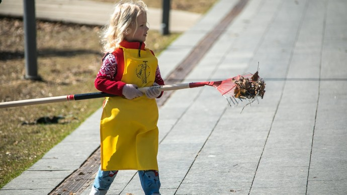 В столичных парках пройдет весенний субботник