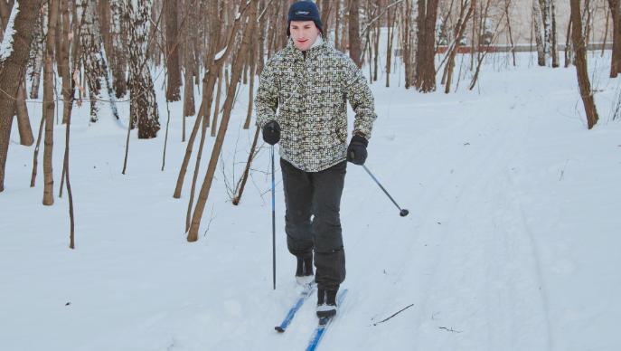 В «Кузьминках» устроят любительский лыжный забег
