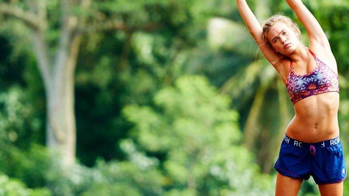 В Саду «Эрмитаж» начинаются бесплатные занятия фитнесом и йогой
