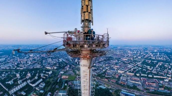 На Останкинской телебашне устроят забег на высоте