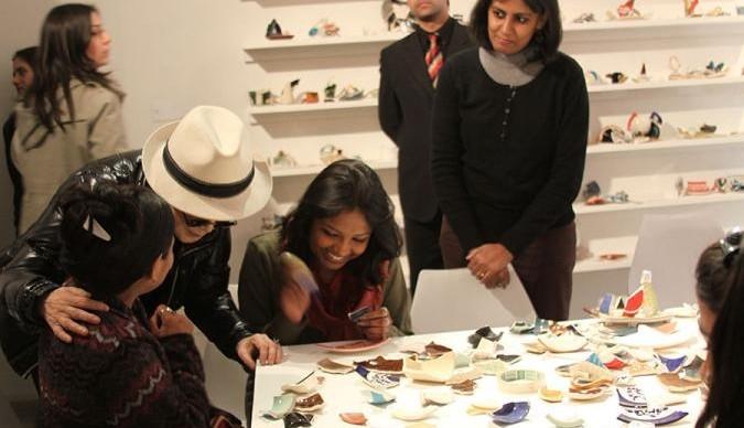 В Музее современного искусства на Петровке открылась выставка Йоко Оно