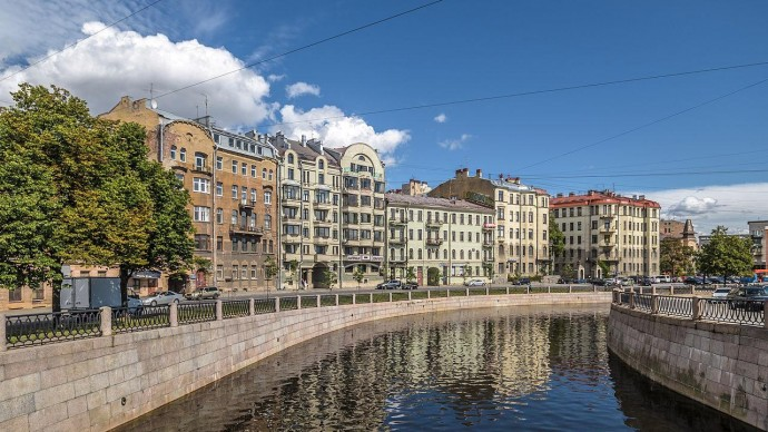 На набережной Карповки в Санкт-Петербурге появится прогулочная зона