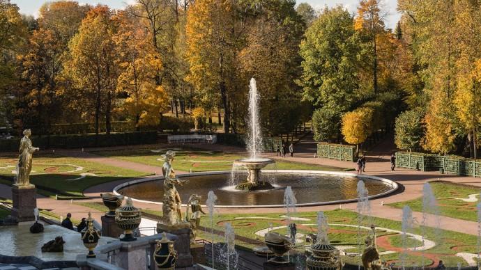 Сезон фонтанов в Санкт-Петербурге стартует 19 апреля