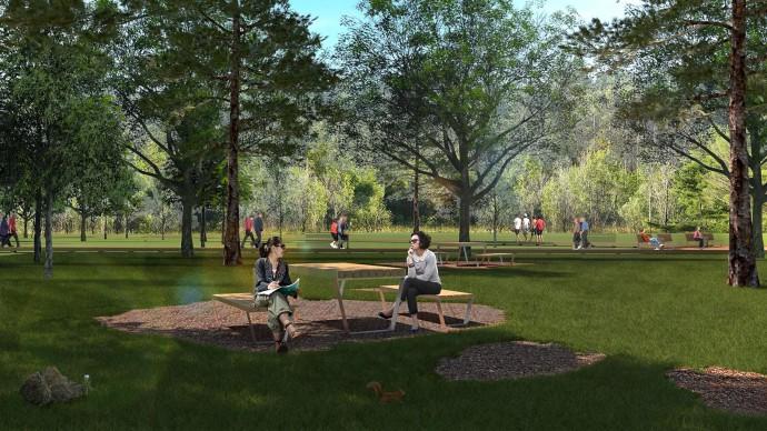В парке «Филатов луг» можно будет прогуляться по благоустроенной экотропе