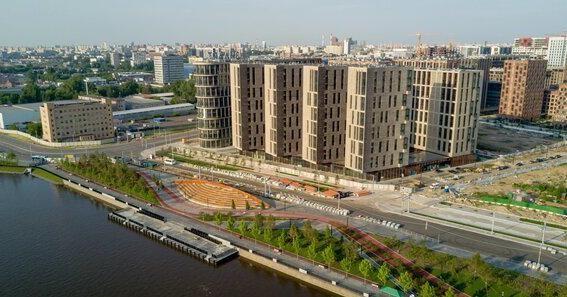 На набережной Марка Шагала построили пристань со 150-метровым амфитеатром