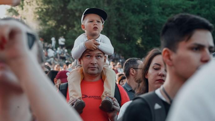 День защиты детей в парке «Кузьминки»