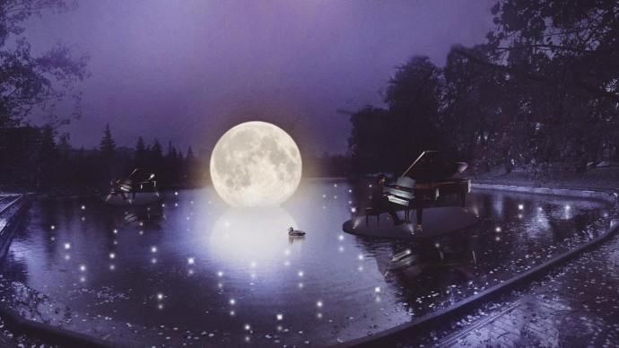 В парке Горького пройдет концерт на воде