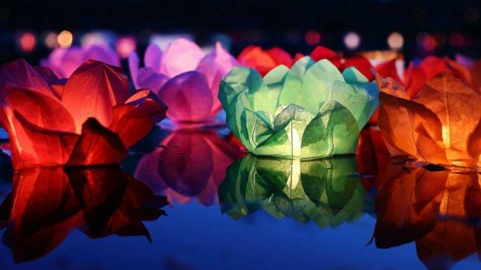 В парке Бабушкина пройдет фестиваль водных фонариков
