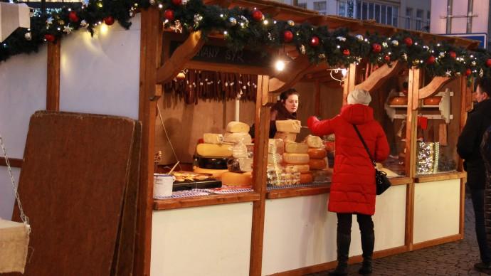 Фестиваль сыра и меда в Гостином дворе
