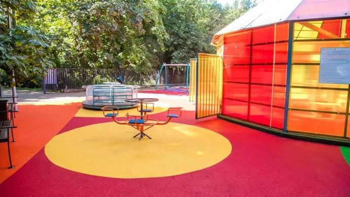 В парке «Сокольники» откроют новую детскую площадку