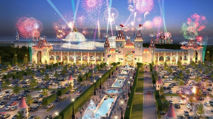 В парке «Остров мечты» появятся тематические сказочные зоны