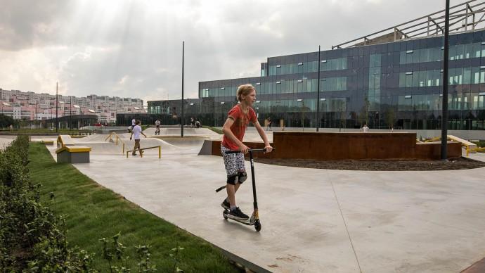 В Печатниках появится новый спортивный парк
