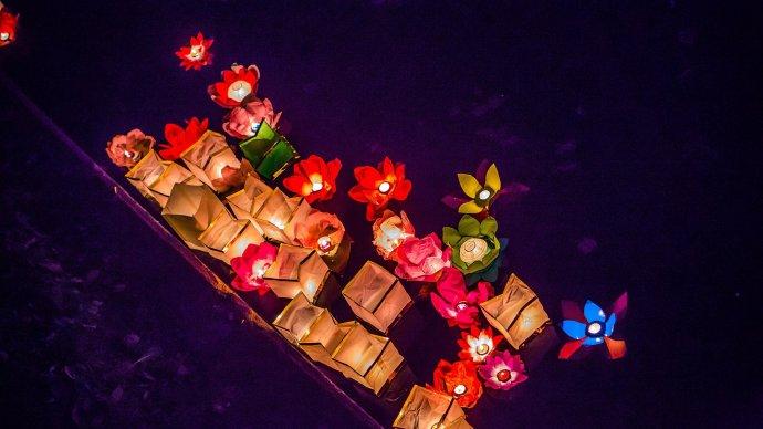 В парке Бабушкина устроят Фестиваль водных фонариков