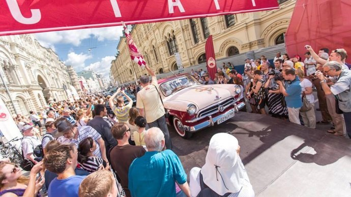 На Красной площади проведут ралли с историческими автомобилями