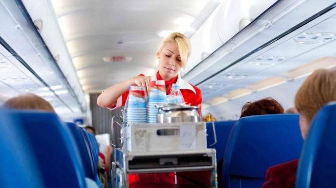 В Екатеринбурге обновили меню в самолетах