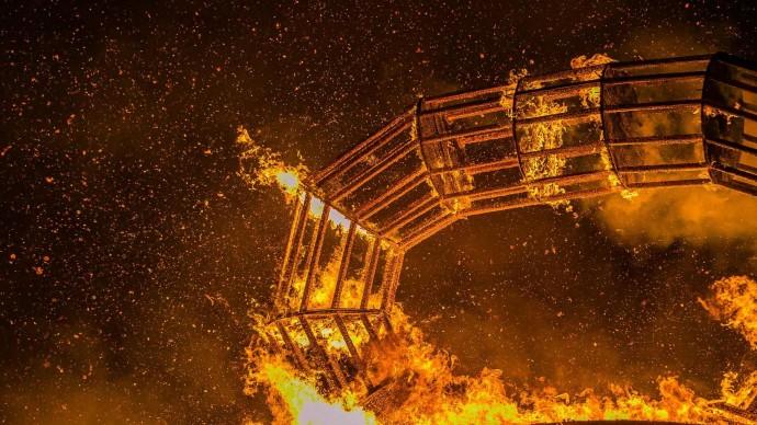 Масленичное чучело современного искусства сожгут в Музее стрит-арта