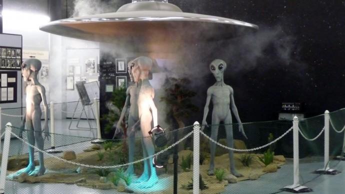 Выставка «Музей инопланетян»
