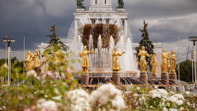 Фонтаны «Дружба народов» и «Каменный цветок» на ВДНХ откроют в мае