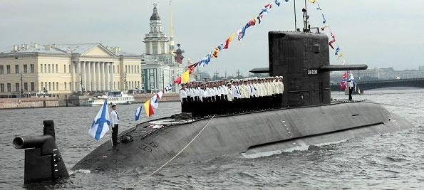 В городе готовятся к празднованию Дня Военно-морского флота