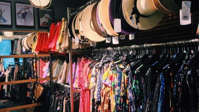 ВDlTelegraphпройдет маркет винтажной моды