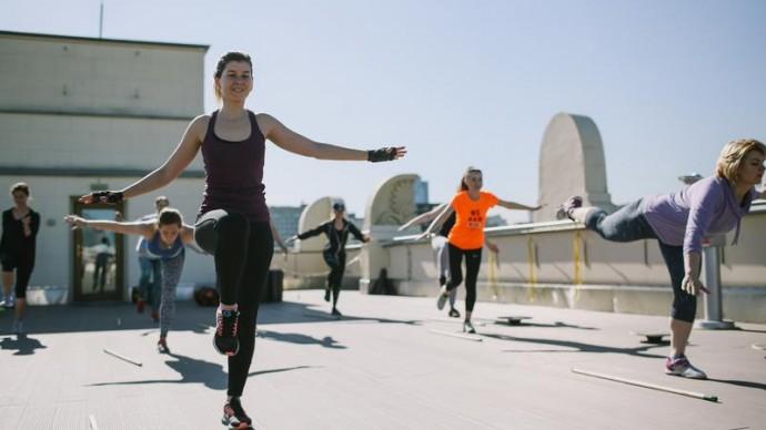 На крыше Музея парка Горького можно будет позаниматься спортом