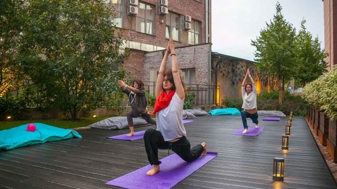Парки города приглашают на бесплатные тренировки