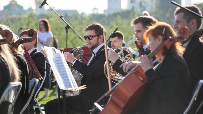 В парках Москвы можно послушать джаз