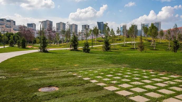 Парк на Ходынском поле готовится к открытию