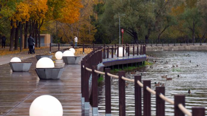 В усадьбе Михалково открыли новый парк