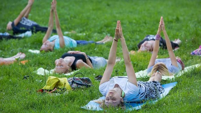 Международный фестиваль йоги в «Останкино»