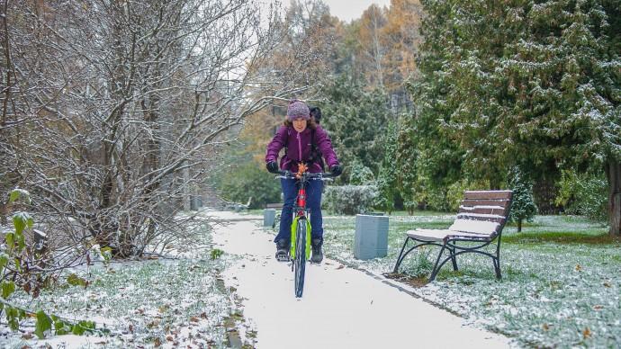 В Москве и Петербурге на следующей неделе может выпасть снег