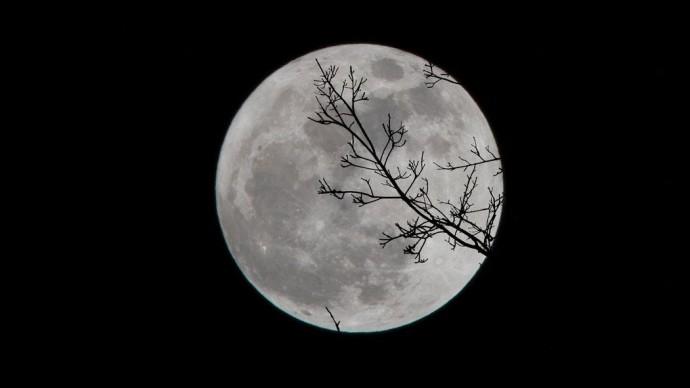 Москвичи увидят сближение Луны с Юпитером и Сатурном в мае