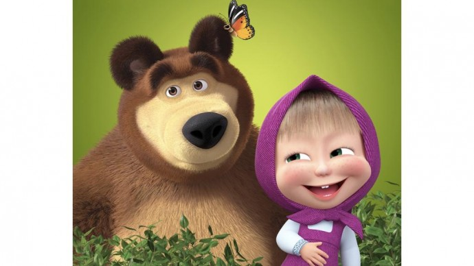 Новые серии мультфильма «Маша и Медведь» выйдут осенью этого года