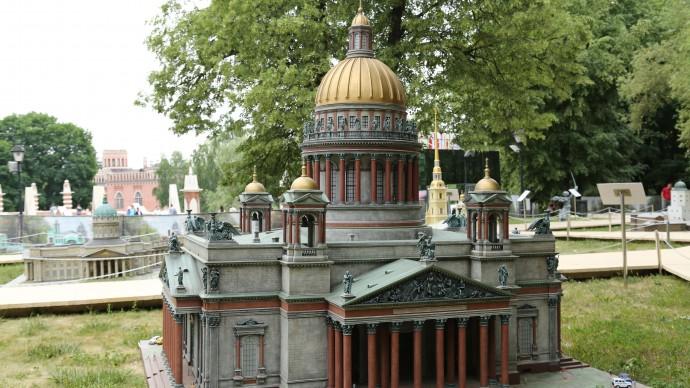 Выставка «Россия в миниатюре» в Царицынском парке