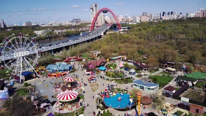 Парк «Сказка» приглашает гостей посетить новые аттракционы